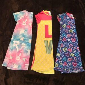 Girls Children's Place nightgown lot Sz 10/12